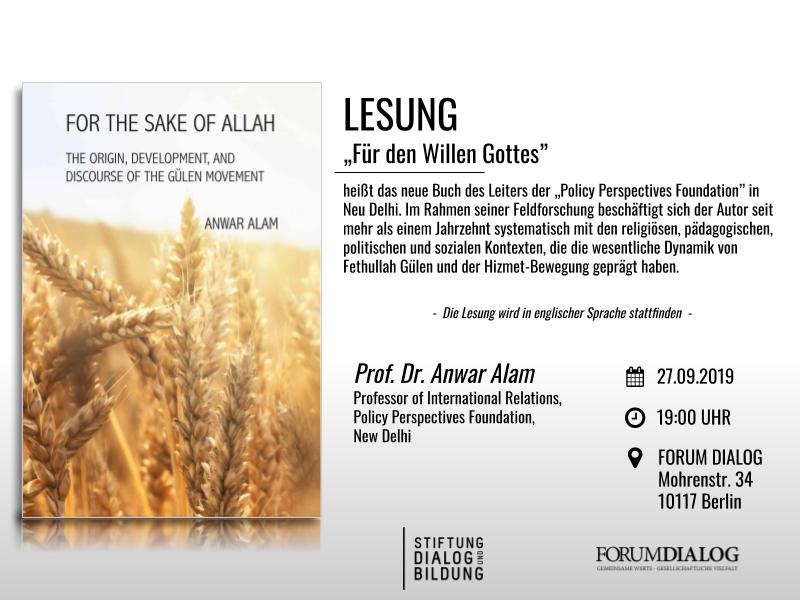 Prof. Anwar Alam